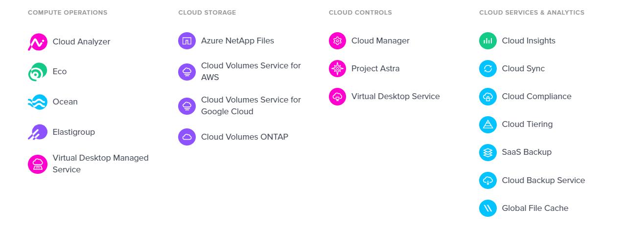 Cloud NetApp ALEF